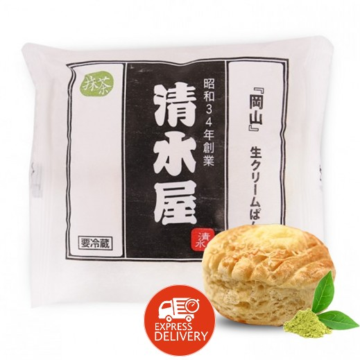 شيميزيو - خبز مجمد بالكريمة والشاي الأخضر 60 جم