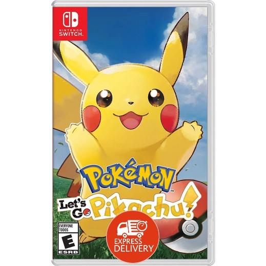 لعبة Pokémon: Let's Go, Pikachu! لجهاز نايتندو سويتش – نظام NTSC