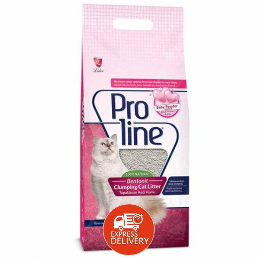برولاين – تراب فضلات القطط برائحة 10 لتر