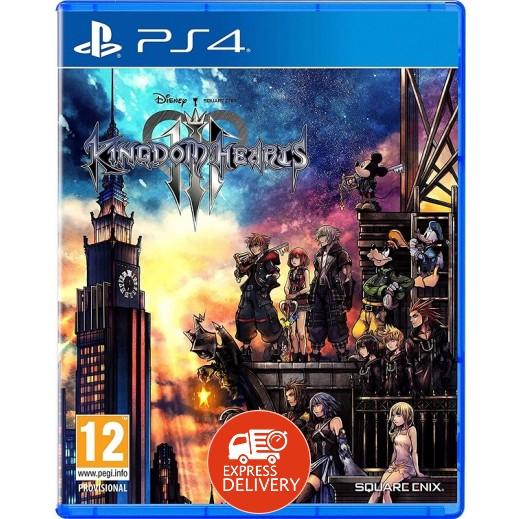 لعبة Kingdom Hearts III لجهاز بلاي ستيشن 4 – نظام  PAL