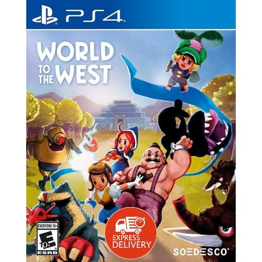 لعبة World to the Westلجهاز بلاي ستيشن 4 – نظام NTSC