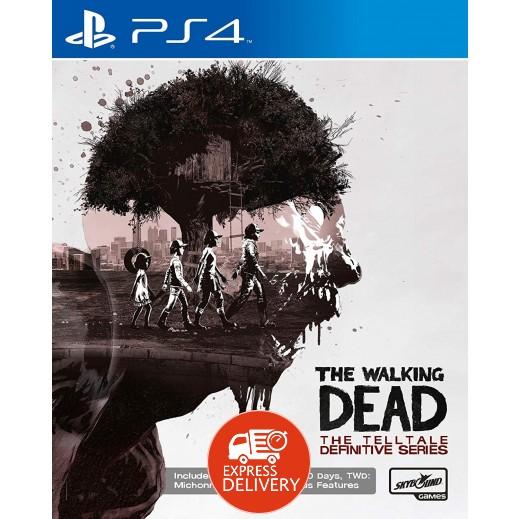 لعبة The Walking Dead: The Telltale Definitive Series لجهاز بلاي ستيشن 4 – نظام PAL