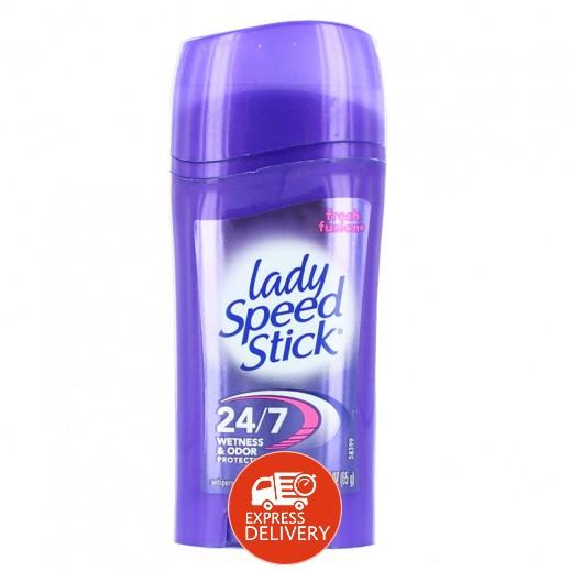 """ليدي سبيد ستيك – مزيل رائحة العرق """" فريش فيوجن """" 65 جم"""
