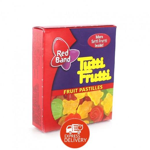 توتي فروتي – أقراص حلوي بالفواكه 18 جم (30 حبة)