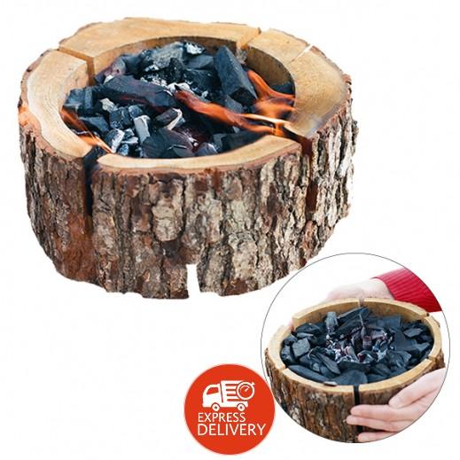 إيكو جريل – شواية خشبية مع فحم طبيعي (24×10 سم)