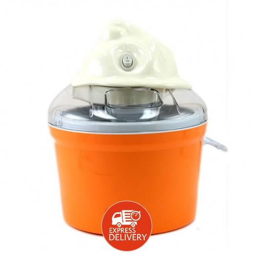 سايونا – صانعة الايس كريم 0.75 لتر موديل SIM-4175 – برتقالي