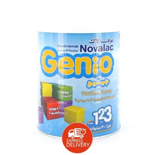 نوفالاك جينيو – تركيبة النمو للأطفال بنكهة الفانيليا 1- 3 سنوات 800 جم