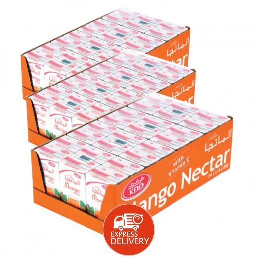 كى دى دى - عصير المانجو نكتار 250 مل ( 3 كرتون × 24 حبة ) - أسعار الجملة