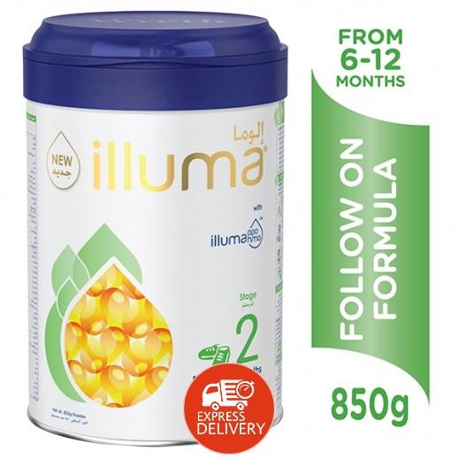 إلوما – حليب لمتابعة تغذية الأطفال (المرحلة الثانية) 850 جم (6 - 12) شهراً