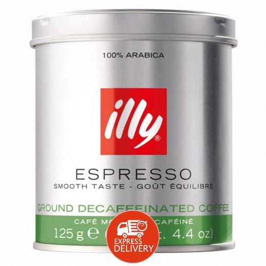قهوة إيلي – قهوة اسبريسو مطحونة منزوعة الكافيين 125 جرام