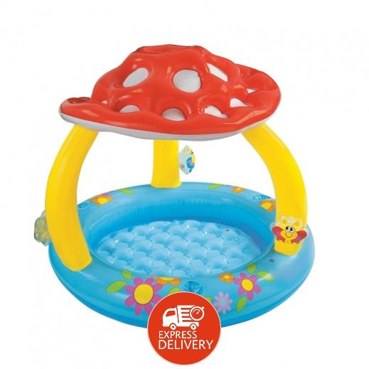 إنتكس – حمام سباحة للأطفال بظل المشروم 102 × 89 سم