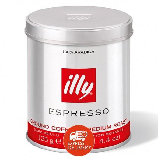 قهوة إيلي – قهوة اسبريسو مطحونة محمصة 125 جرام