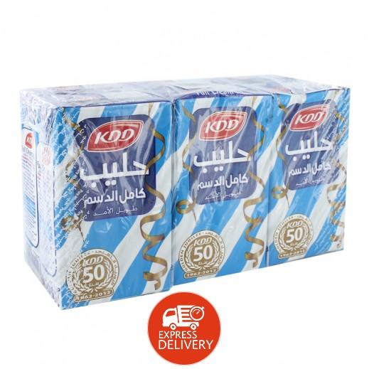كى دى دى – حليب طويل الأمد كامل الدسم 250 مل ( 6 حبة )