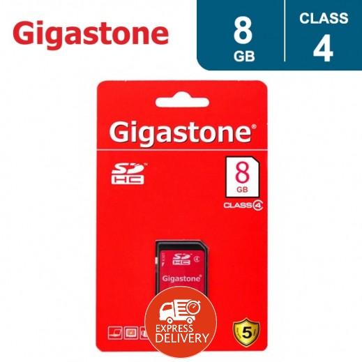 جيجاستون – بطاقة ذاكرة 8 جيجابايت SDHC فئة 4