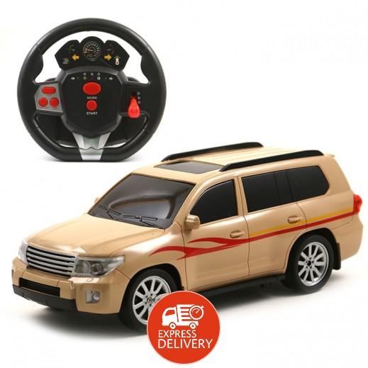 ملك الصحراء - سيارة تويوتا تحكم عن بُعد قابلة للشحن