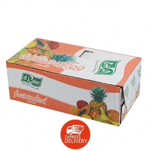 الربيع - عصير كوكتيل الفاكهة نكتار 200 مل (18 حبة)