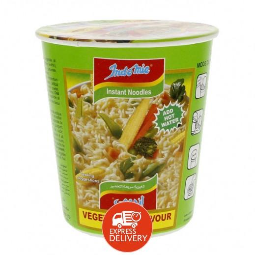 إندومي – شعيرية سريعة التحضير بنكهة الخضروات - كوب 60 جم