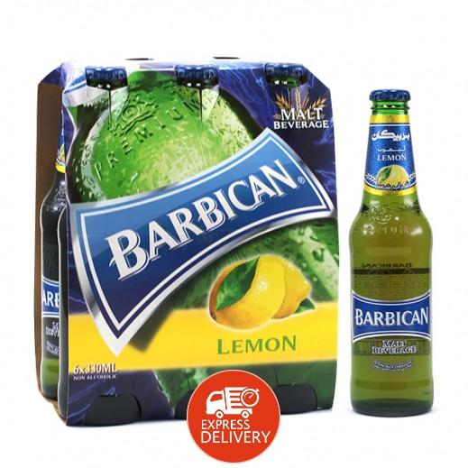 بربيكان - مشروب الشعير بنكهة الليمون 330 مل ( 6 حبة )