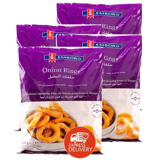 إيمبورج – حلقات البصل المجمدة 450 جم (4 حبة) - عرض التوفير