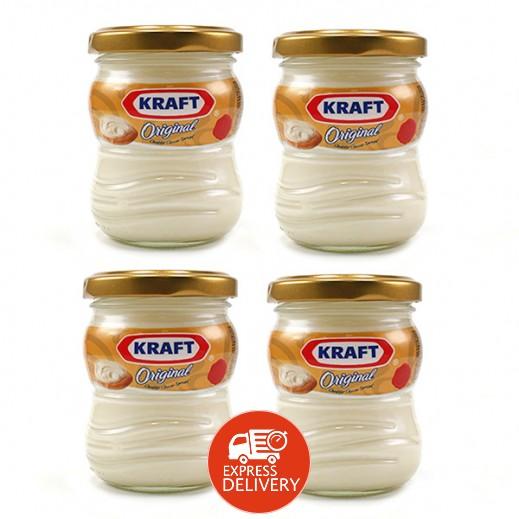 كرافت - جبنة كريم قابلة للدهن 140 جم (4 حبة) - عرض التوفير