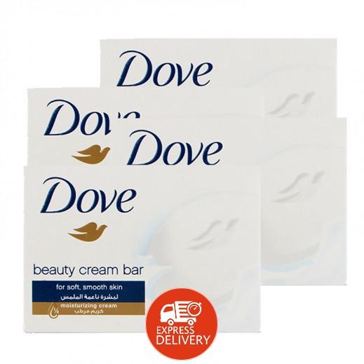 دوف – صابون الجمال أبيض 160 جم (4 حبة)