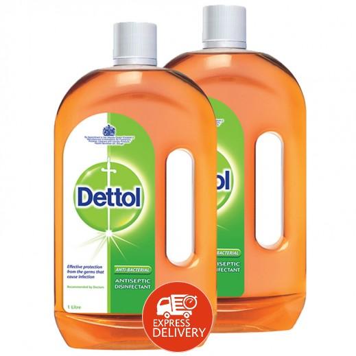 ديتول – مطهر سائل مضاد للبكتريا لجميع الأغراض 1 لتر (3 حبة) - أسعار الجملة
