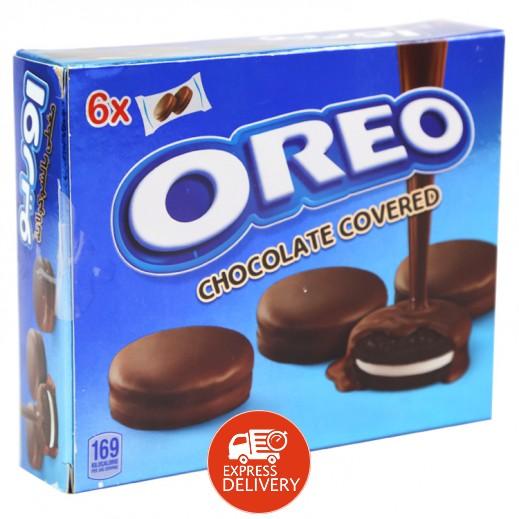 أوريو - بسكويت مغطى بالشوكولاته 6×34 جم