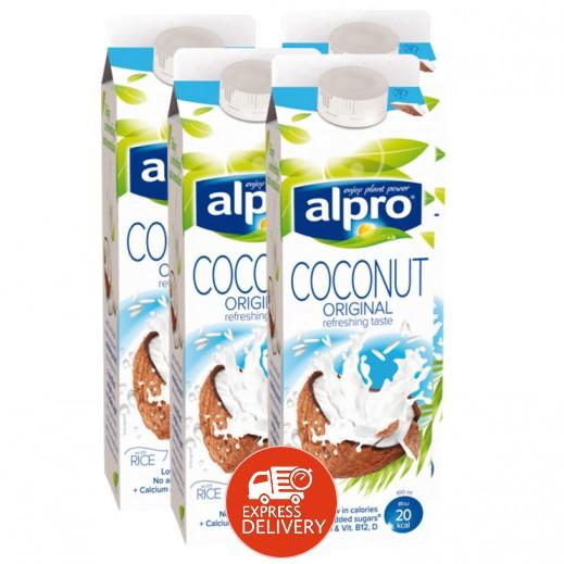 ألبرو – شراب جوز الهند الاصلي 1 لتر (4 حبة)