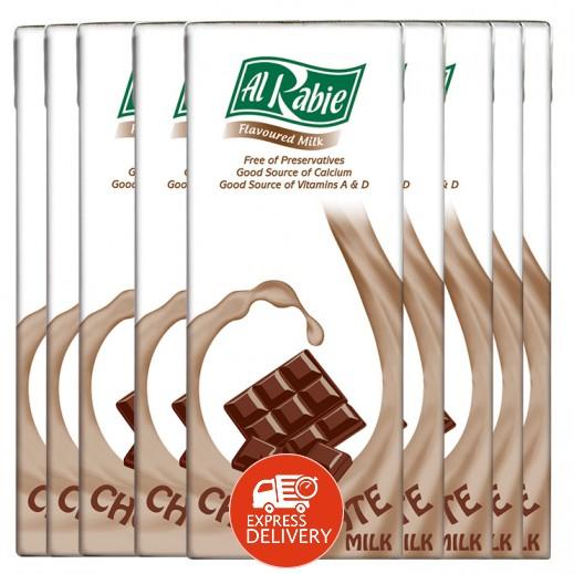 الربيع - حليب بالشوكولاته 200 مل (18 حبة)