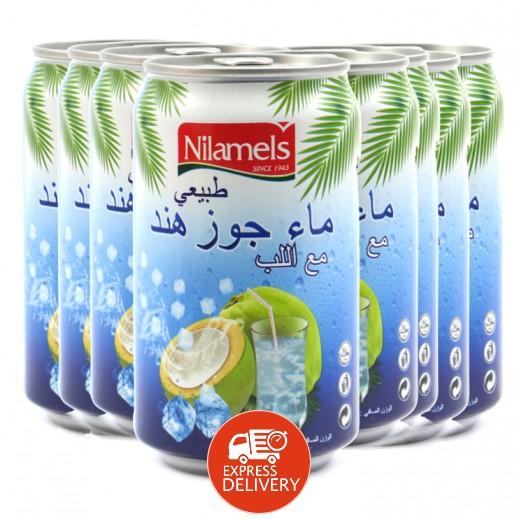 نيلاميلز - ماء جوز هند طبيعي مع اللب 24 × 330 مل