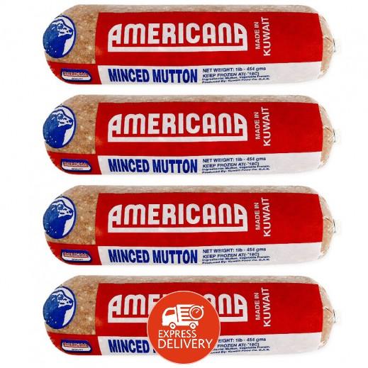 أمريكانا لحم غنم مفروم 454 جم 4 حبة عرض التوفير توصيل Taw9eel Com
