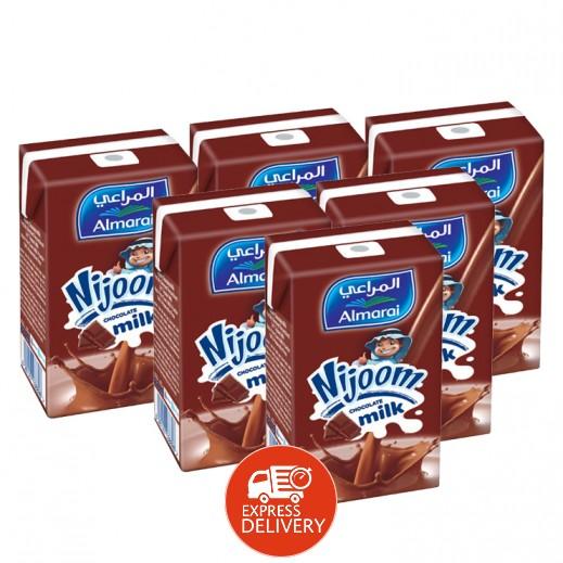 المراعي - حليب نجوم بنكهة الشوكولاته 6 حبة × 150 مل