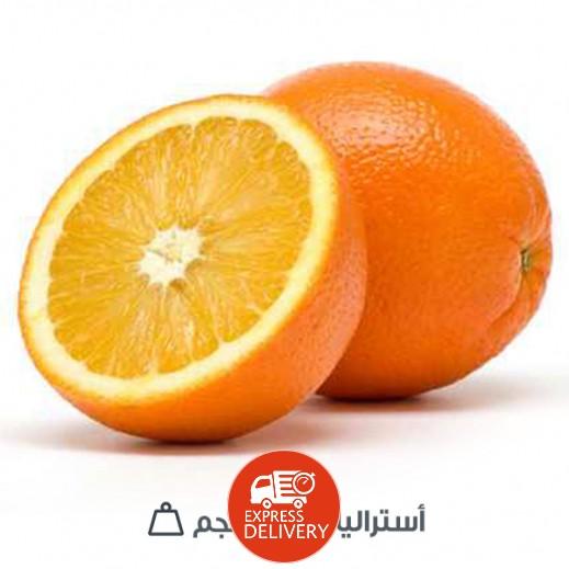 برتقال فالنسيا استرالي 1 كجم تقريبا