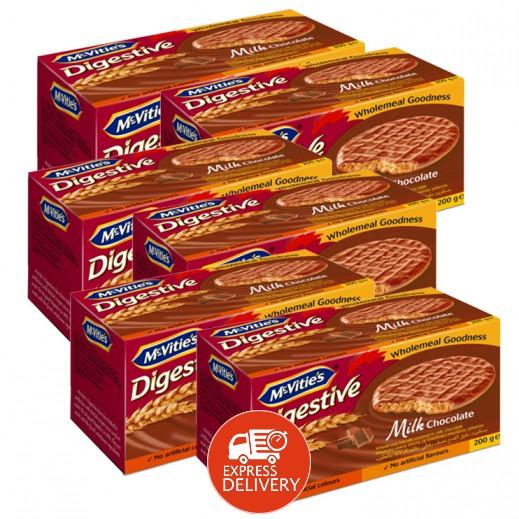 ماكفيتيز – بسكويت بالشوكولاتة والحليب 200 جم ( 6 حبة ) - عرض التوفير