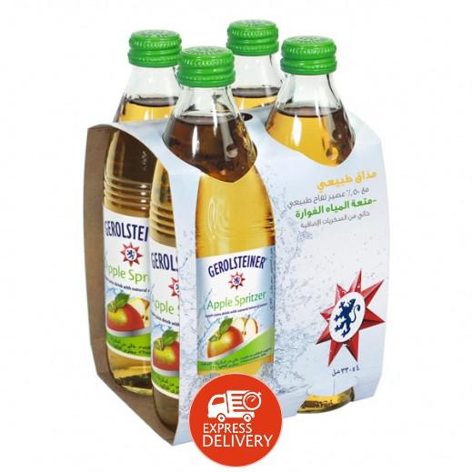 جيرولستينر - مياه معدنية طبيعية فوارة بالتفاح 330 مل (4 حبة) - عرض التوفير
