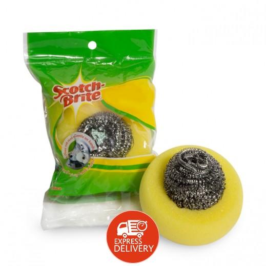 سكوتش برايت - جلاية معدنية لولبية