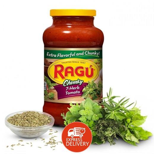 راغو - صلصة المعكرونة الأصلية بالأعشاب السبعة 680 جم