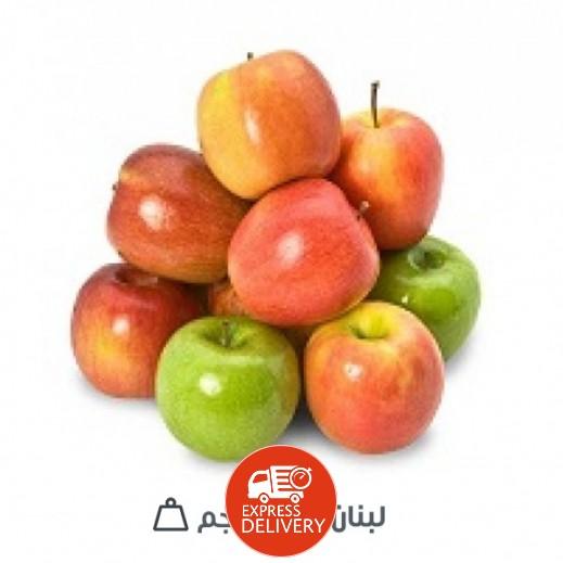 تفاح لبناني طازج ميكس (4 كجم تقريبا)