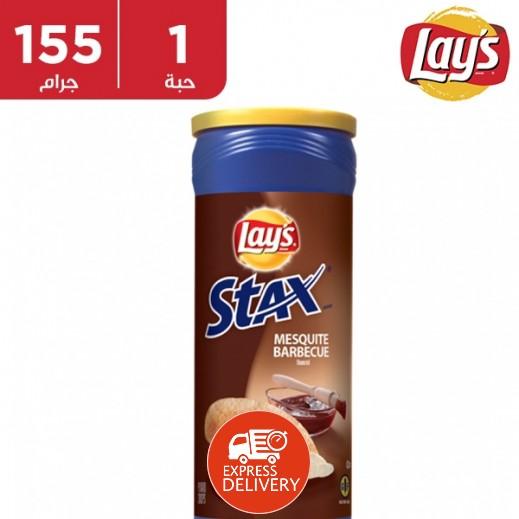 ليز ستاكس - شيبس بطعم الباربيكيو 155 جم