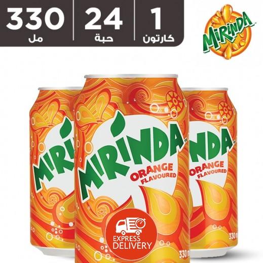 ميريندا – شراب البرتقال 24 × 330 مل