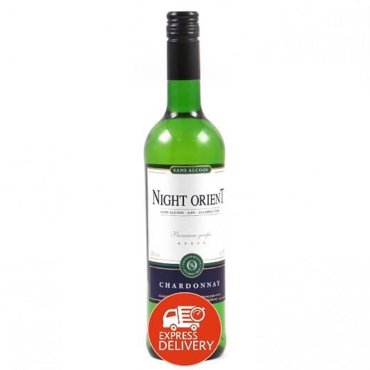 نايت أورينت - شراب العنب الأبيض (شاردونيه) الغازي الخالي من الكحول 750 مل