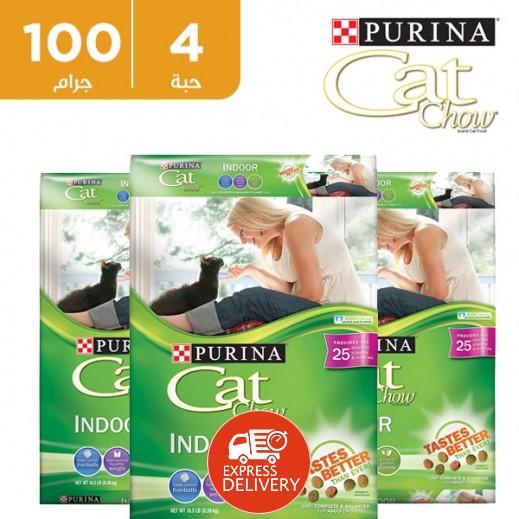 """بورينا – طعام القطط الجاف """"كات شو"""" 4 حبة × 510 جم - عرض التوفير"""