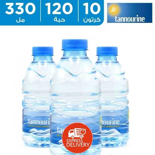 تنورين – مياه معدنية 330 مل (10 كرتونة × 12 حبة)  أسعار الجملة  - يتم التوصيل بواسطة توصيل الجملة خلال 12ساعة