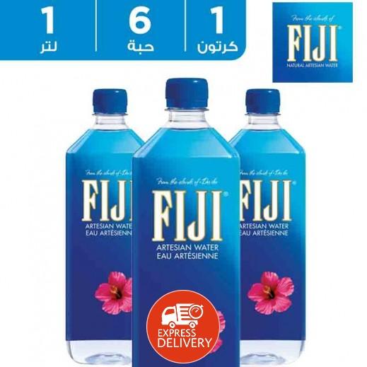 فيجي – مياه معدنية طبيعية 6 × 1 لتر