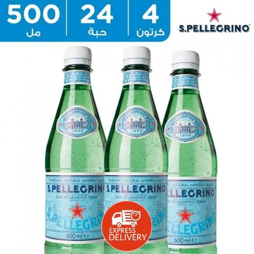 سان بيليغرينو – مياه معدنية طبيعية فوارة 24 × 500  مل