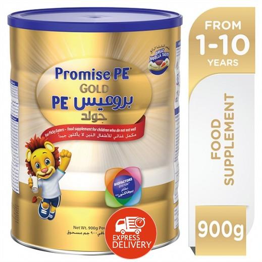 بروميس PE جولد – حليب مكمل غذائي 900 جرام (1-10) سنوات