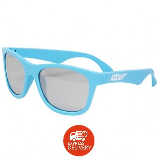 بيبيتورز – نظارات شمسية للأطفال - أزرق (7 - 14) سنوات