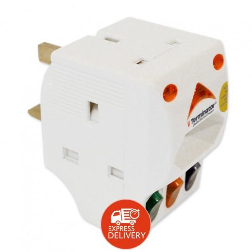 تيرمناتور - مقبس كهربي 4 مخرج