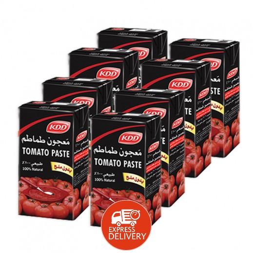 كي دي دي - معجون طماطم 135 جم (7 حبة + 1 حبة مجاناً)