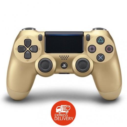 يد التحكم اللاسلكية Dualshock 4   - ذهبى